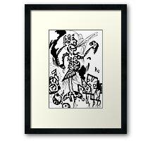 011 Framed Print