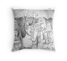 You Can't Do That Man Comic Strip 38 Throw Pillow