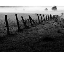 Mist in the morning Photographic Print