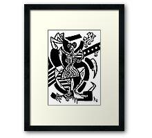 015 Framed Print