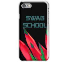 Swag School Black Case iPhone Case/Skin