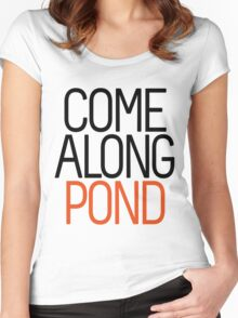 Come Along Pond Women's Fitted Scoop T-Shirt