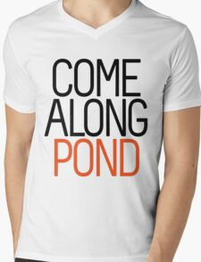 Come Along Pond Mens V-Neck T-Shirt