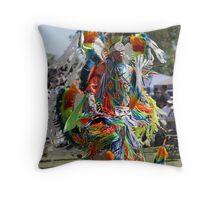 San Manuel Indian Pow Wow 2012 Throw Pillow