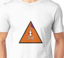 Warning-Pikmin may contain poison Unisex T-Shirt