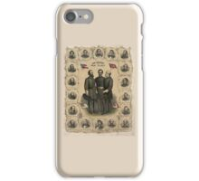 Confederate Generals of The Civil War iPhone Case/Skin