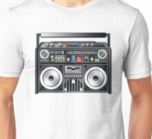 Retro Star Wars Boom box/Ghetto Blaster Darth Vader Unisex T-Shirt
