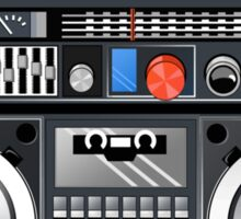Retro Star Wars Boom box/Ghetto Blaster Darth Vader Sticker