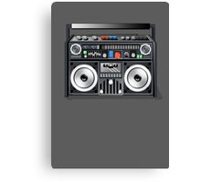 Retro Star Wars Boom box/Ghetto Blaster Darth Vader Canvas Print