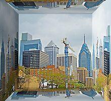 Philadelphia Skyline - Mirror Box by MotherNature