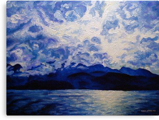 Blue Mountain No.1 by Morgan Ralston