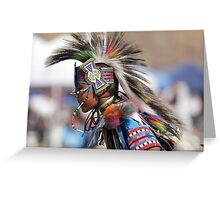 San Manuel Indian Pow Wow 2012 Greeting Card
