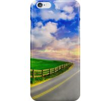 Autumn In Romania Countryside Road iPhone Case/Skin