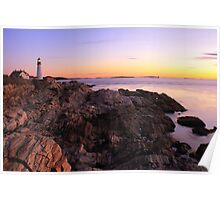 Portland Head Lighthouse Seascape Poster