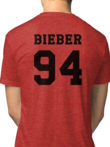 # Bieber 94 - Black Tri-blend T-Shirt