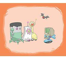 Robot Kids: Halloween by jeffpina78