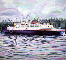Kahloke ~ The Hornby Island Ferry by Morgan Ralston