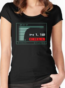 Otacon Call Women's Fitted Scoop T-Shirt