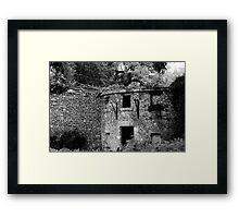 Abandoned Abode Framed Print