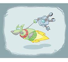 Robot Kids: Dog Walker by jeffpina78
