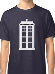 WHITE TARDIS Classic T-Shirt