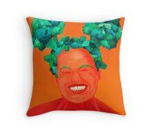 Broccoli Buns Throw Pillow