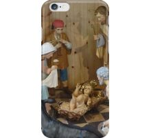 Christmas Nativity Scene iPhone Case/Skin