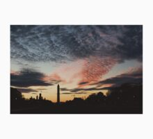 Mother Nature Painted the Sky Over Washington, DC Spectacular Baby Tee