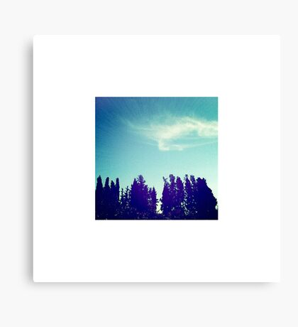 Mediterranean Sky Canvas Print