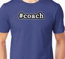 Coach - Hashtag - Black & White Unisex T-Shirt