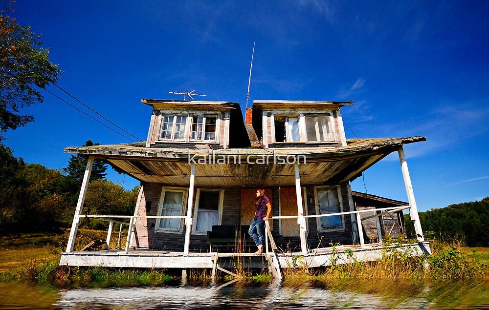 Self Portrait- Abandoned House by kailani carlson