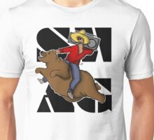 Kanye .. on a flying bear? Unisex T-Shirt