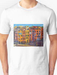 Riomaggiore Facade, CinqueTerre Unisex T-Shirt