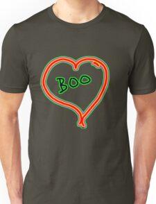 i love boo heart  Unisex T-Shirt