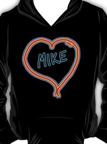 i love mike heart T-Shirt