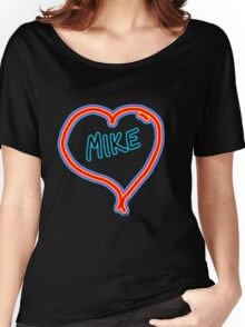 i love mike heart Women's Relaxed Fit T-Shirt