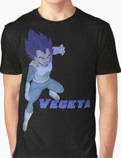 Vegeta Retro Graphic T-Shirt