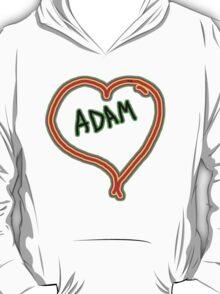 i love Adam heart  T-Shirt