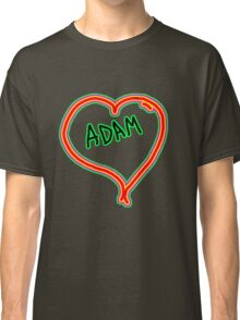 i love Adam heart  Classic T-Shirt
