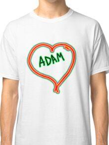 i love Adam heart  Classic T-Shirt