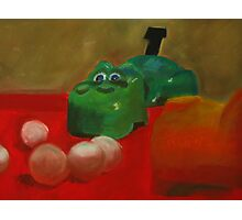 The Hungry Hippo Photographic Print