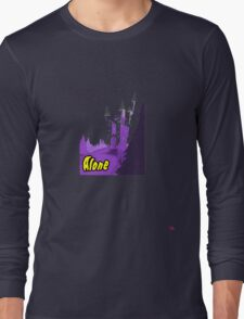 Halloween spooky alone at the castle  Long Sleeve T-Shirt