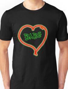 I LOVE babe heart  Unisex T-Shirt