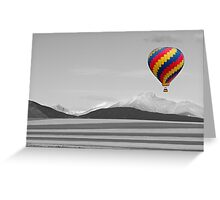 In Their Own World Colorado Ballooning Greeting Card