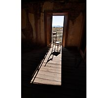 Chair in the Doorway Photographic Print