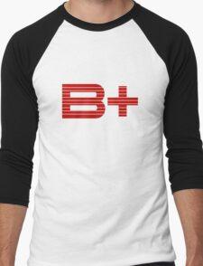 Be Positive Men's Baseball ¾ T-Shirt