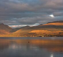 Moody Loch Fyne by Sue Knowles