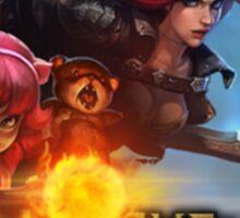 Annie & Katarina - League of Legends Sticker