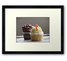 CUP CAKES Framed Print
