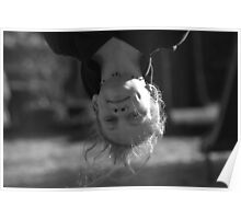Upside Down and Still Cute Poster